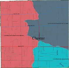 Chester Township watersheds
